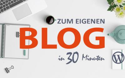 Wie erstelle ich einen Blog mit WordPress?