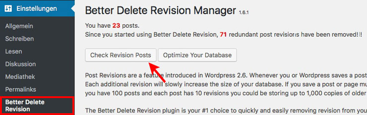Better Delete Revision