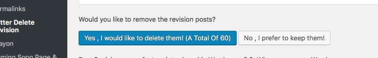 Check Revision Posts
