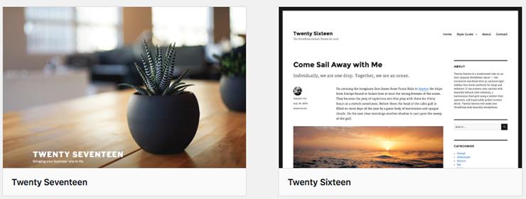 Zweck eines WordPress-Themes