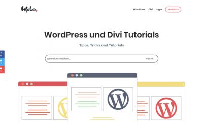WordPress Startseite erstellen und festlegen