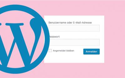 Login Versuche begrenzen mit WordPress
