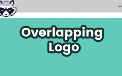 Überlappendes Logo erstellen mit Divi
