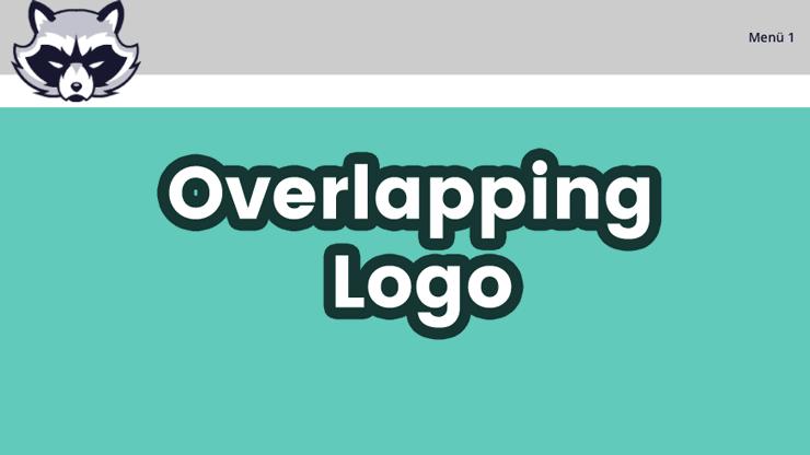 Ueberstehendes Logo mit Divii
