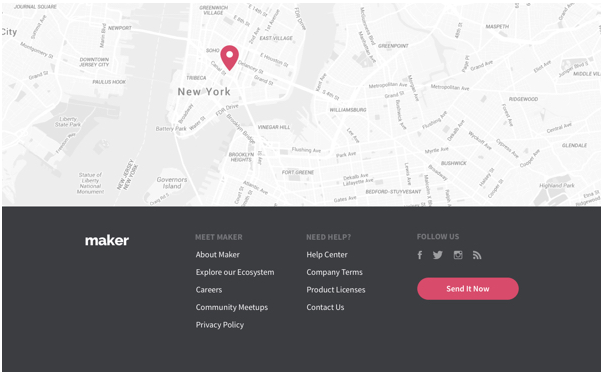 Divi Footer Layout
