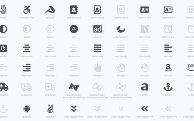 Über 2481 Icons mit WordPress nutzen (Fontawesome)